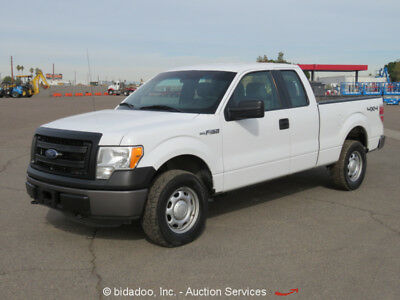 2013 Ford F150  2013 Ford F150 4x4 Extended Cab Pickup Truck 5.0L V8 A/T Cold A/C Microsoft Sync