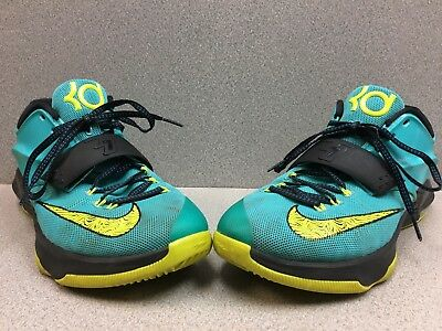 24f0f3b8fb28 NIKE KD VII 35000 Degrees Bright Mango Grey-Volt Men s Size 11 ...