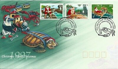 1997 Christmas Island - Christmas First Day Cover FDI