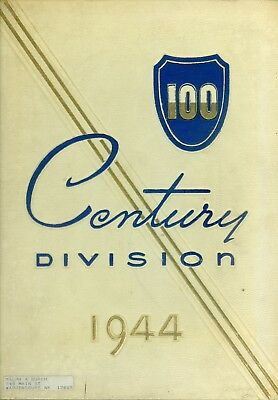 WW II  100th Infantry Division Pictorial Review 1944 Autographs Photographs Rare