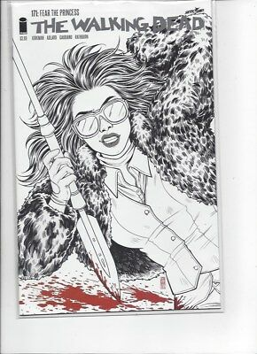 Walking Dead #171 Black And White 15Th Anniversary Variant