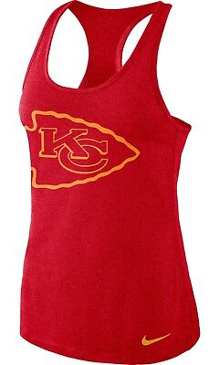 Kansas City Chiefs Women's Nike Dri Fit Performance Tank Top - FREE SHIPPING!