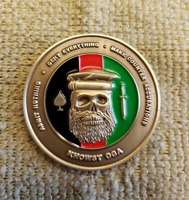 CIA NCS Khowst OGA Afghanistan  Chapman Challenge Coin