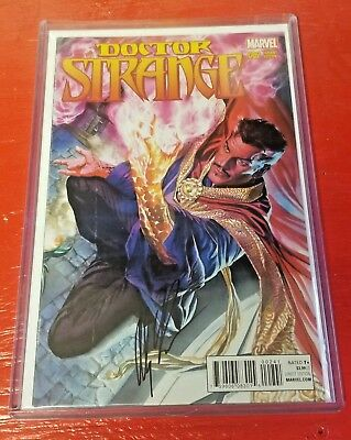 Marvel Comics Doctor Strange #2 Alex Ross Variant SIGNED With COA NM