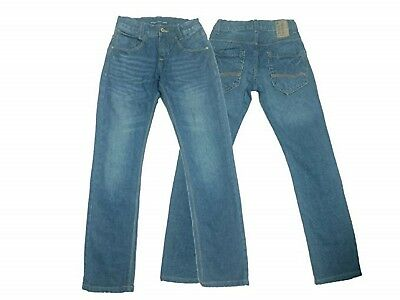 Boys Jeans Skinny Fitted Slim Faded Blue 7 8 9 10 11 12 13 14 15 16 EU 128 - 176