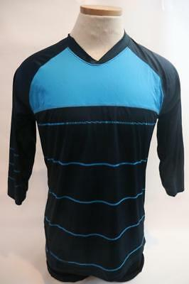 New Specialized Men s Enduro Comp MTB 3 4 Sleeve Bike Cycling Jersey Blue  Medium 7852aed16