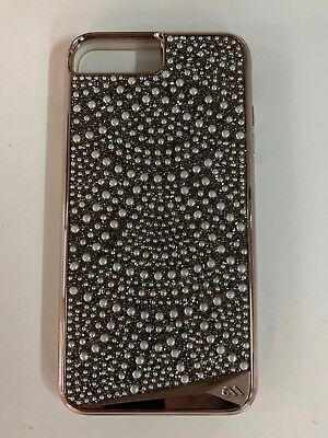 detailed look 8453f abd8a CASE MATE BRILLIANCE Tough Lace Case Cover for iPhone 7 Plus 8 Plus Rose  Gold