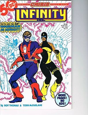 Infinity Inc  # 21  FN/VF  7.0  Crisis Crossover