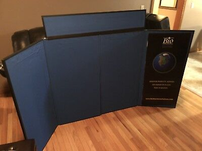 Featherlite Panel Display Booth Panel Trade Show Exhibit Foldable Excellent!