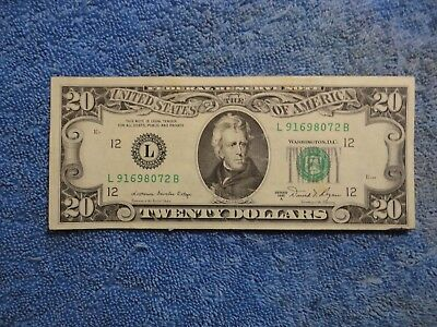 1981A San Francisco $20 FRN, Nice Note at Great Price, Take a Look!!!!