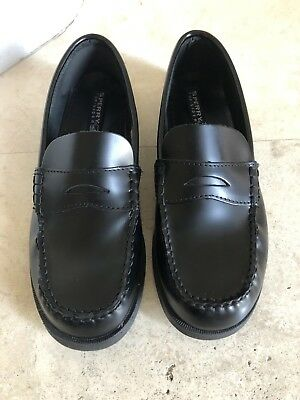 872b8b6f7f0 Preowned Worn 2x SPERRY COLTON BOYS PENNY LOAFER US SIZE 6.5 M BLACK LEATHER