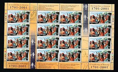 Canada  Mnh  - Mint Commemorative Stamps ---   Great Peace Of Montreal