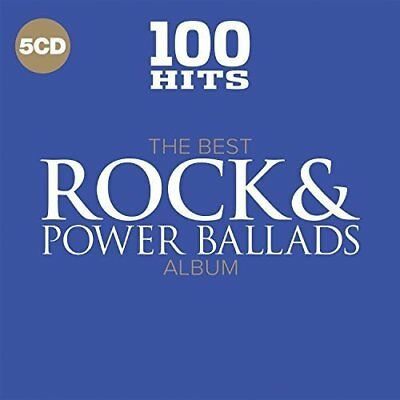 100 Hits - The Best Rock and Power Ballads Album Various Artists Audio CD