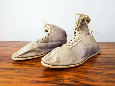Vintage Retro Victorian Style Material Boots Lace Up Shoes Paramount Pictures