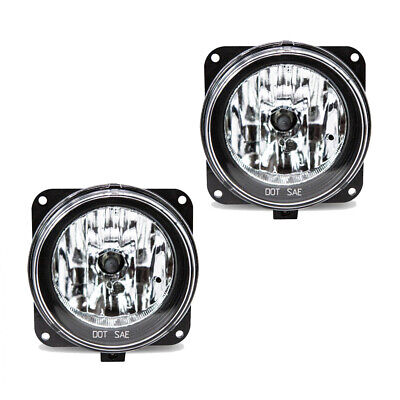 Fits Ford Escape Focus Mustang Driver + Passenger Side Fog Light Assembly 1 Pair