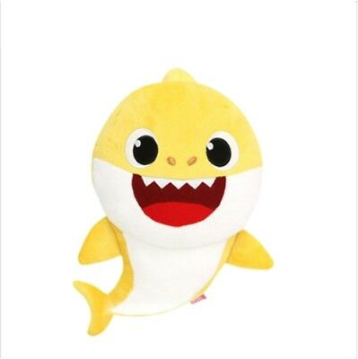 New Pinkfong Family Shark Official Korean Song Sound Plush Doll Toys - Baby