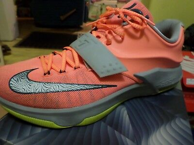 the best attitude 05645 4a093 Mens Nike KD VII - Bright Mango - size 13 - great used condition