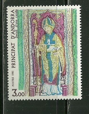 Andorra, French Scott #291 Mint Never Hinged Nh