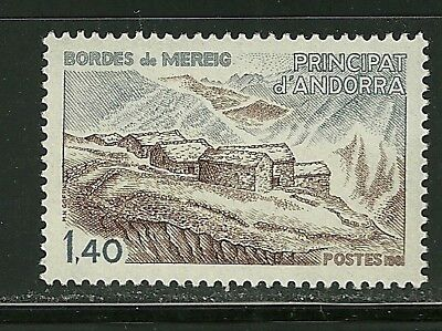 Andorra, French Scott #285 Mint Never Hinged Nh