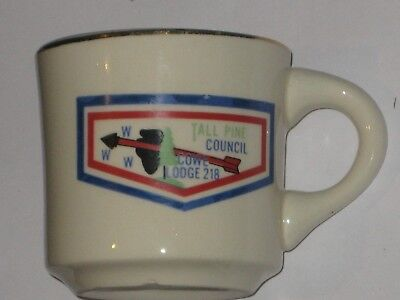 Cuwe Lodge 218 Tall Pine Council Coffee Mug-Now Merged