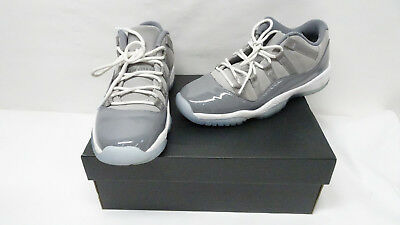 efaf27a67d5da NIKE MENS AIR Jordan 11 Retro Low Cool Grey 528895-003 Sz 10 P8 ...