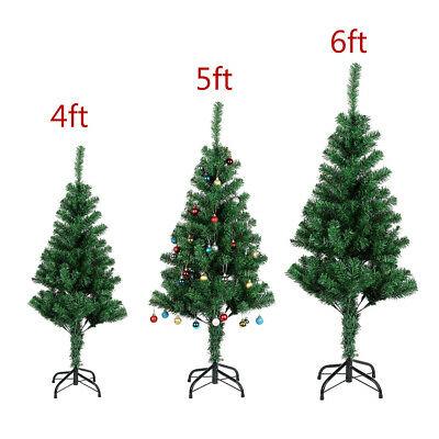 c09e459a734 4 5 6 FEET TALL Christmas Tree W Stand Holiday Season Indoor Outdoor ...