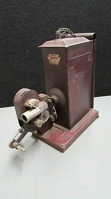 RARE ANTIQUE HAND CRANK KEYSTONE KINESCOPE 16mm PROJECTOR Model No. E-37