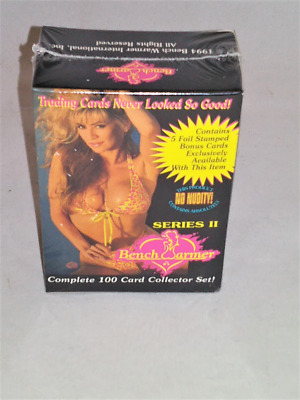 1994 Bench Warmer Series II Factory Sealed Set Complete 100 Cards Benchwarmer