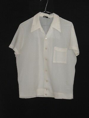 1960's Vintage Short Sleeved Casual Shirt.