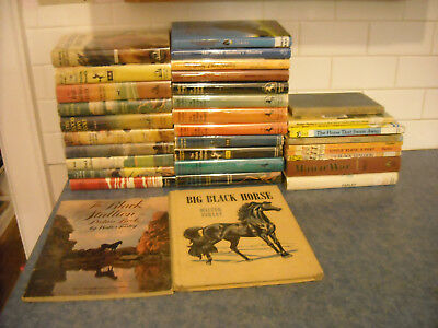 Lot 33 Vintage Walter Farley Complete Collection Black Stallion Horse Books +++