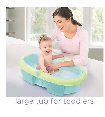 NEW! ☆Summer Infant☆Fold Away•Comfort Bathtub* Newborn*Toddler*Easy Storage*