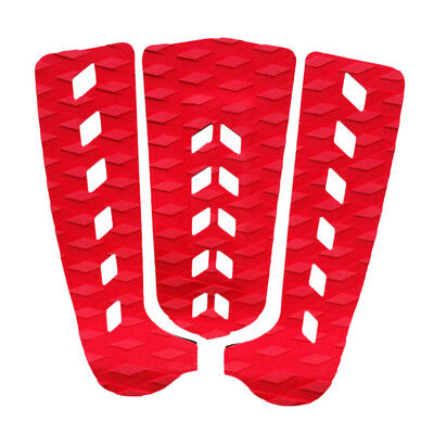 3X Non Slip Surfboard Traction Tail Pads Deck Grips for Surfing Skimboarding