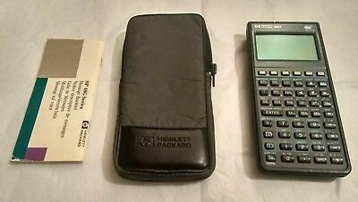 HP Hewlett Packard 48GX 128k RAM Scientific Graphic Calculator Working Read Desc