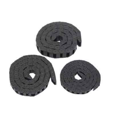 10x20mm 1M Plastic Drag Chain Towline Carrier Wire Cable Electrical Machine Tool