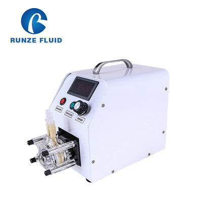 Runze Constant Flow Peristaltic Pump Lab/Industry Liquid analysis System ON/OFF