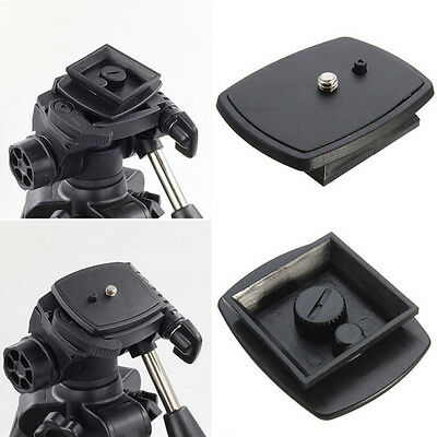 Tripod Quick Release Plate Screw Adapter Mount Head For DSLR SLR Camera MAUS ECT