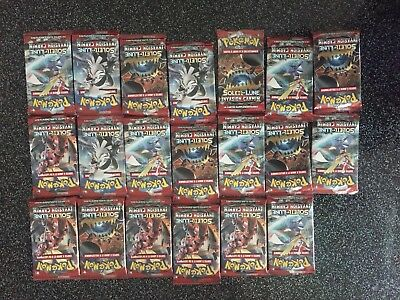 Pokémon 20 Booster Sl 4 Invasion Carnin scellé neuf en Français - Display