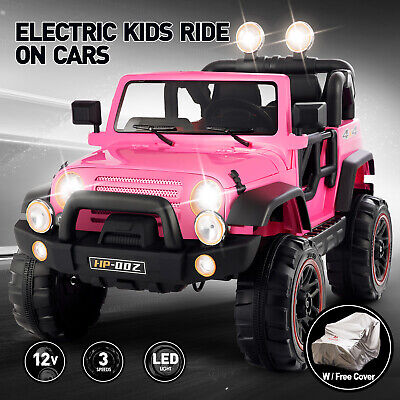 12V Kids Ride On Truck Car Toy With Remote Control Battery Operated 3 Speed MP3