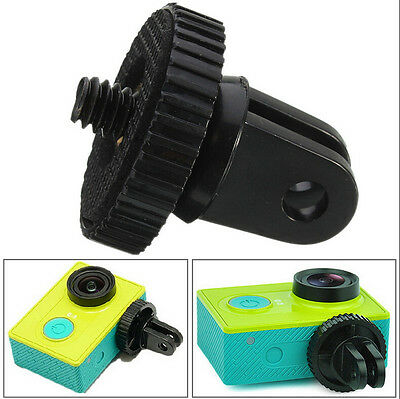 "Mini 1/4"" Monopod Tripod Mount Adapter with Screw Thread For GoPro Hero 1 2 3 KW"