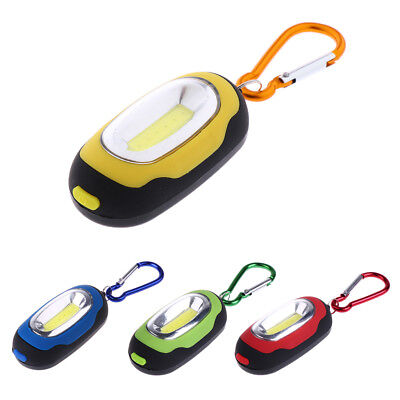 Mini LED Flashlight & Keychain Carabiner Emergency Torch for Camping Hiking