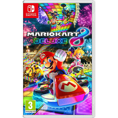Mario Kart 8 Deluxe (Nintendo Switch) | New & Sealed | Fast & Free UK Delivery !