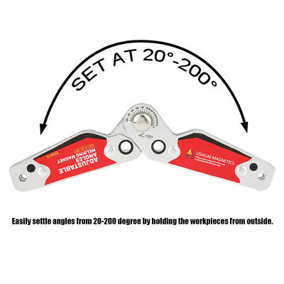Magnet Welding Clamp Magnetic Holder Fixer Welder Tool 20°-200 Degree DIY Tool