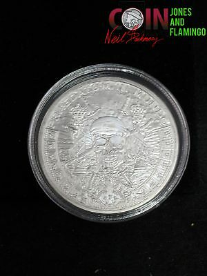 1 Ounce .999 Fine Silver Bullion Round, 'pirate' Sectional Coin #16577