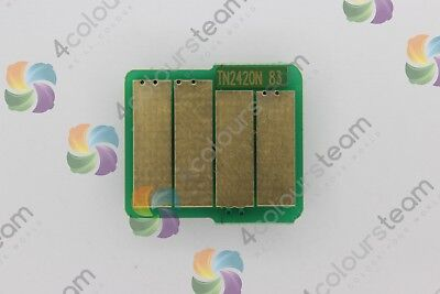 BLACK TONER RESET CHIP FOR BROTHER TN2420 HL-2350w L2390Dw 2395d HL-2730Dw L2370