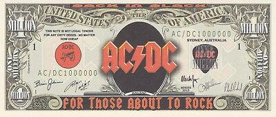 Ac/dc Novelty Dollar