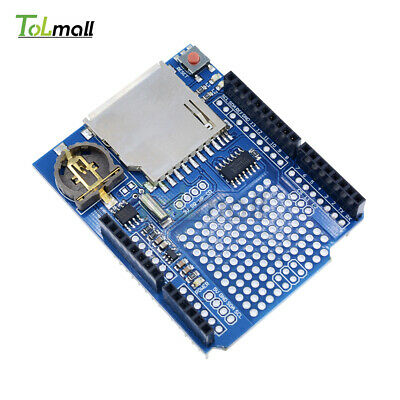 DS1307 Data Logging Recorder Logger Shield Board for Arduino UNO SD Card