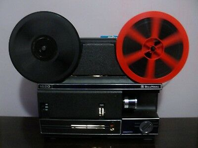 Bell & Howel 1920 Z Super 8 & Standard 8mm Movie Projector NEW ~SERVICED~