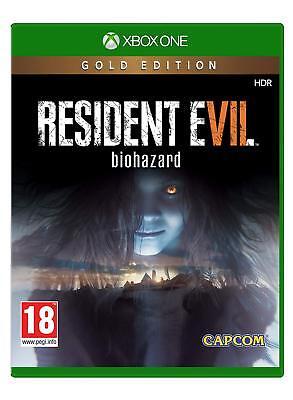 Resident Evil 7 Gold Edition Xbox One NEW SEALED DISPATCHING ALL ORDERS BY 2 PM