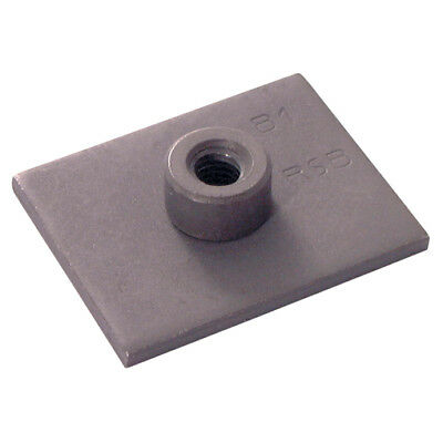 Twin Tube Clamp Weld Base Plate Group 4 Size Pk2