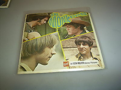 VIEW MASTER  3 Scheiben THE MONKEES